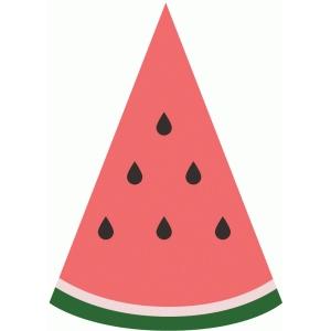 Watermelon slice silhouette design store view watermelon clipart