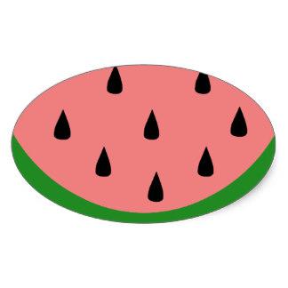 Watermelon slice stickers zazzle clipart