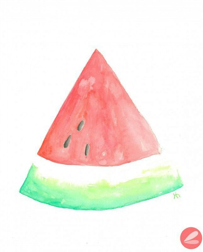 Watermelon slice top watermelon art ideas on fruit food clipart