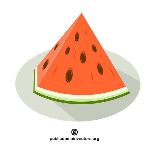 Watermelon slice vector graphics vectors clip art