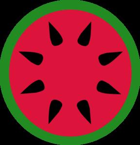 Watermelon slice watermelon clip art at vector clip art 2
