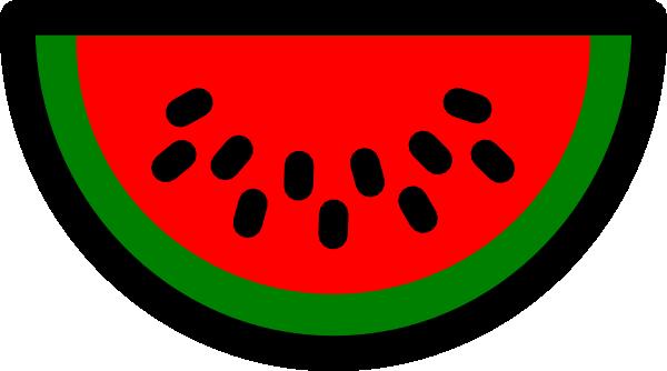 Watermelon slice watermelon clip art at vector clip art