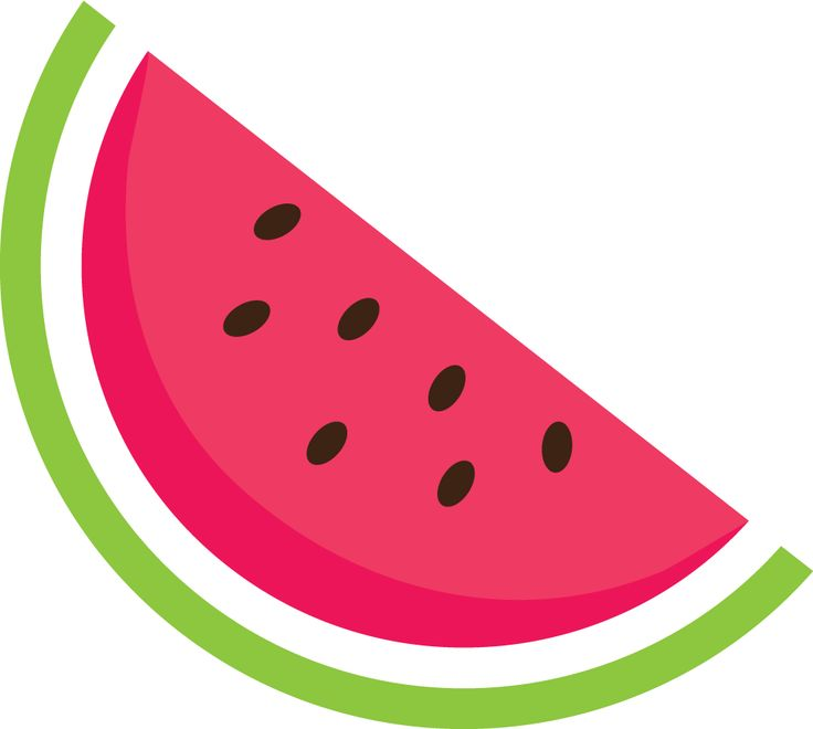 Watermelon slice watermelon clip art free vector for download about 2