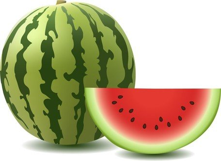 Watermelon slice watermelon clip art vector graphics