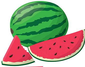 Watermelon slice watermelon clip art watermelon clipart fans 2