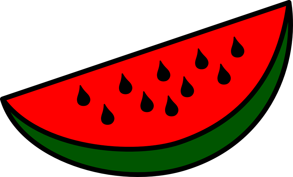 Watermelon slices free pictures on pixabay clipart