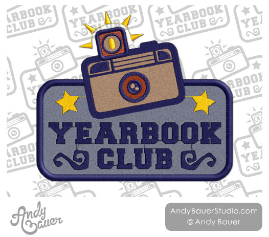 Yearbook club clipart
