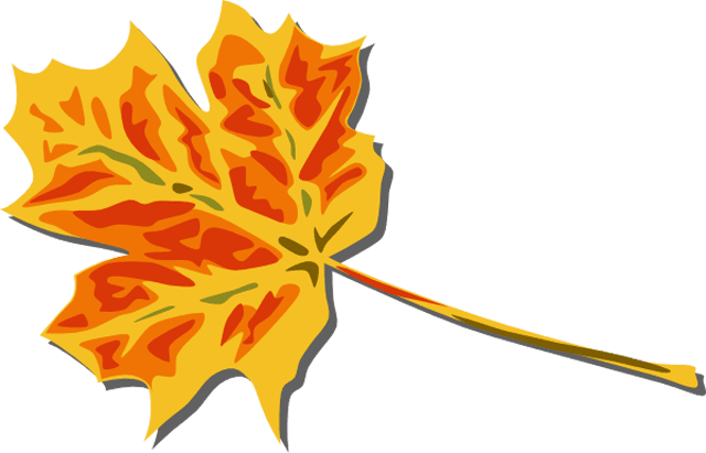 1 free fall leaves clip art images 3
