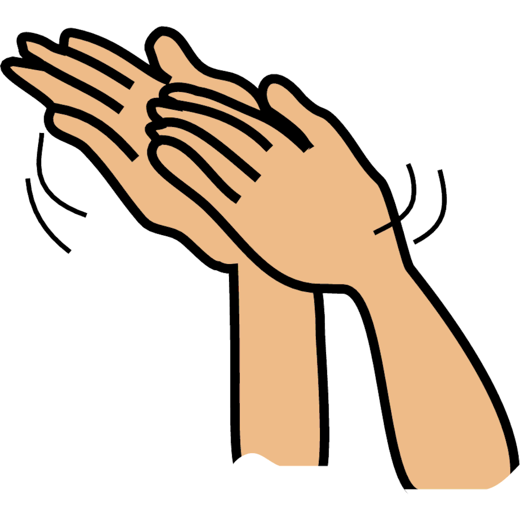 Applause hands clapping clip art clip art library