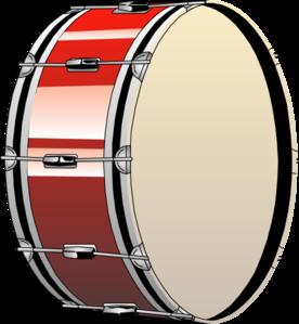Bass drum clip art at vector clip art