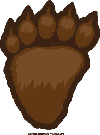Bear paw print bear paw free prints clipart 3 clipart