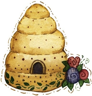 Beehive bee hive and quilts images on honey bees bees clipart