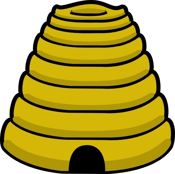 Beehive bee hive clip art free vector in open office drawing svg