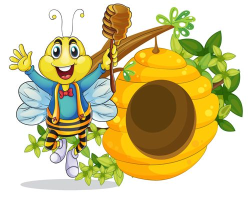 Beehive bee images on bumble bees clip art and bee