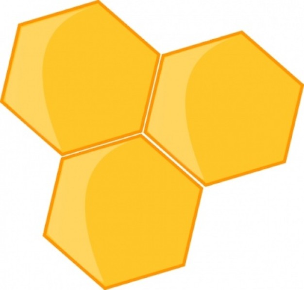 Beehive clipart 2