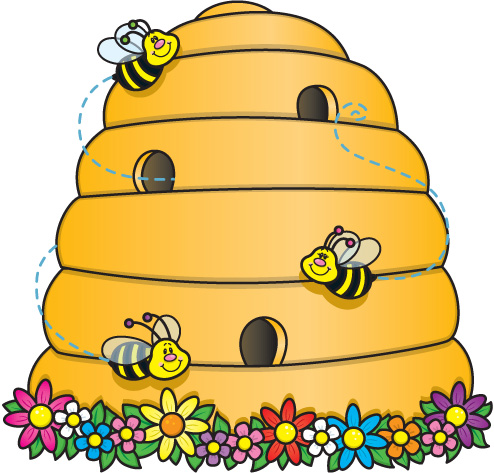 Beehive clipart free images