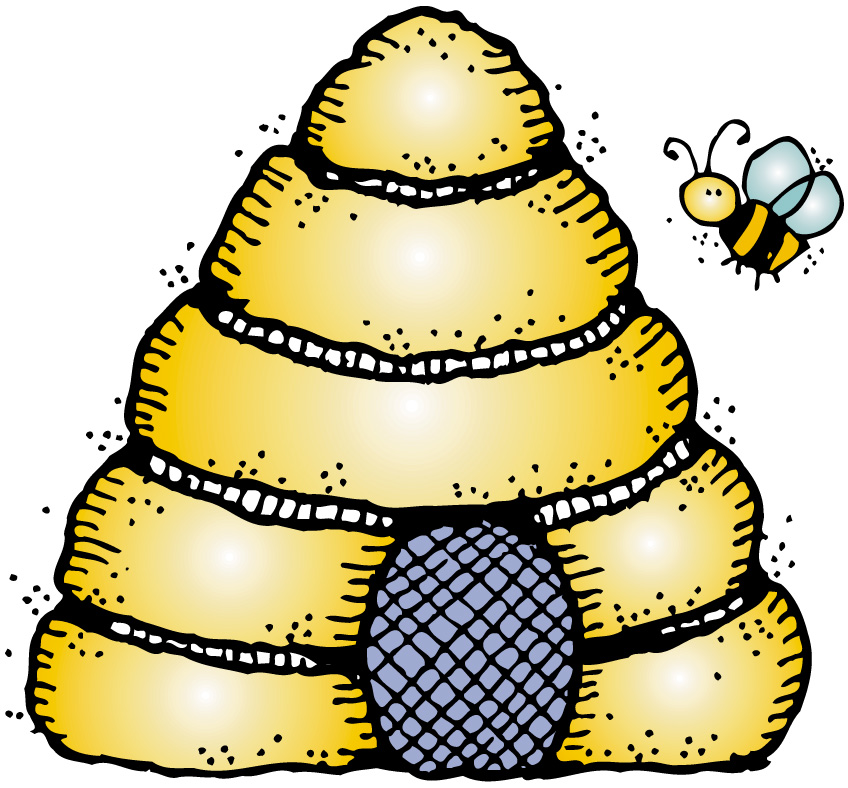Beehive gallery for bee hive clip art image
