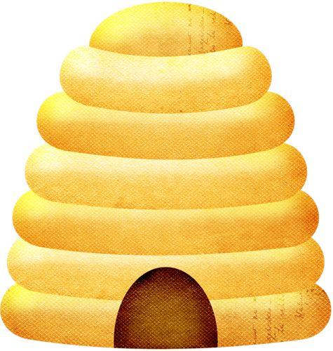 Beehive rr honeybee element clip art honey bees