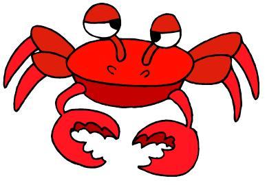 Cartoon crab clipart free clip art images clipartwiz