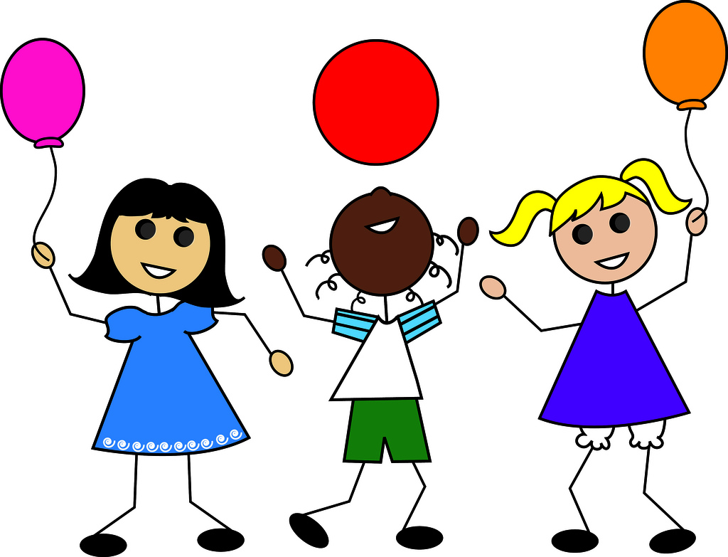 Children playing kids playing free clip art children clipart images 4