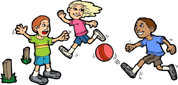 Children playing kids playing sports clipart free images