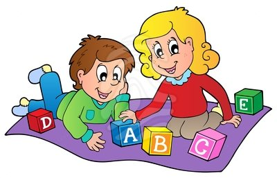 Children playing kids playing with toys clipart free images