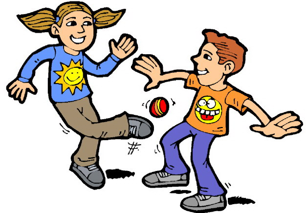 Children playing kids summer clipart free images 2