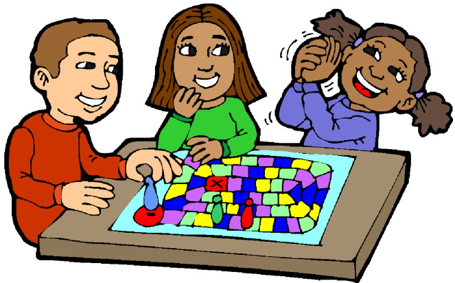 Children playing student play clipart