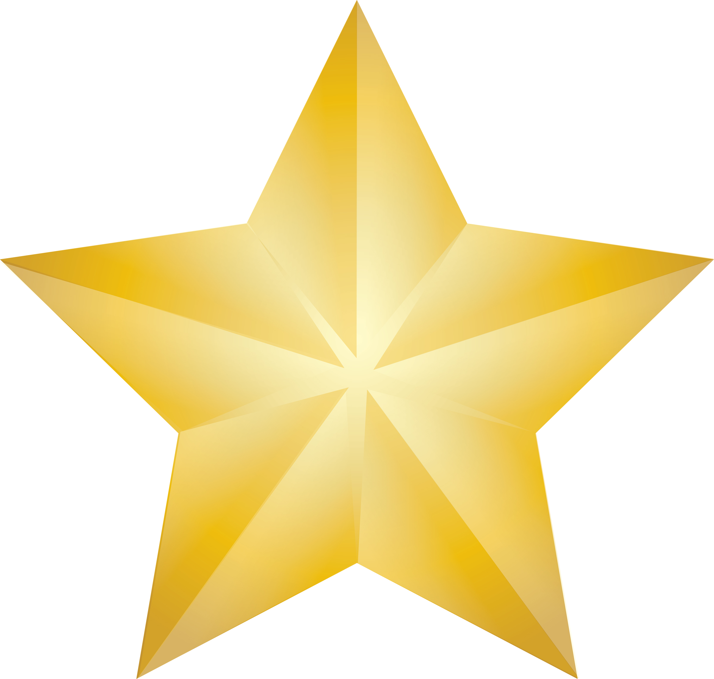 Clipart gold star 3