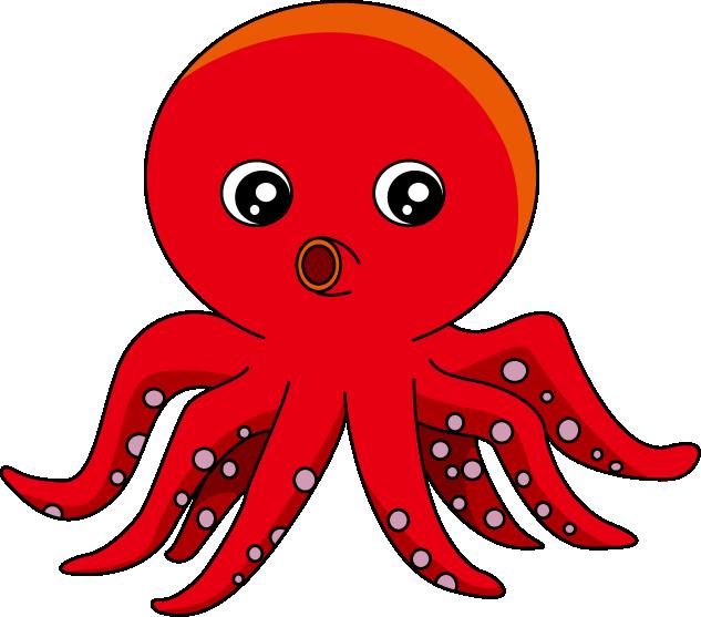 Clipart octopus clipart