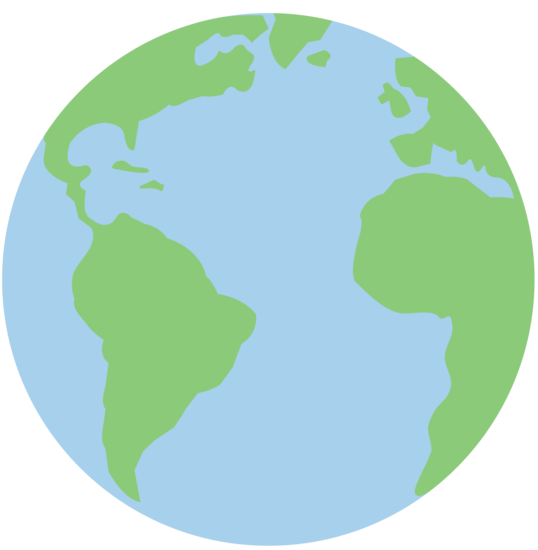 Clipart planet earth clipart