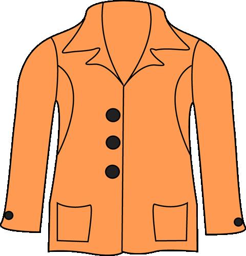 Coat jacket clip art clipart free clipart images