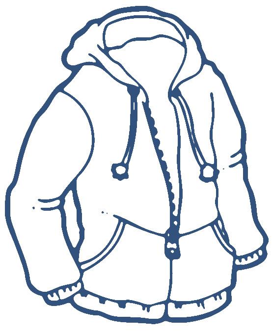 Coat jacket clip art image