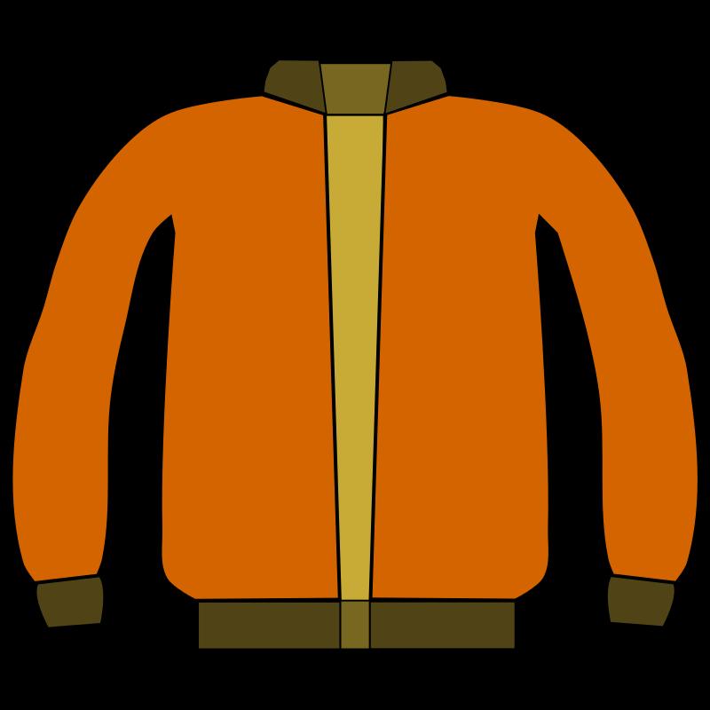 Coat jacket clipart 2 image