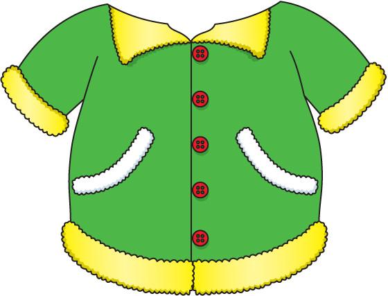 Coat jacket clipart free images
