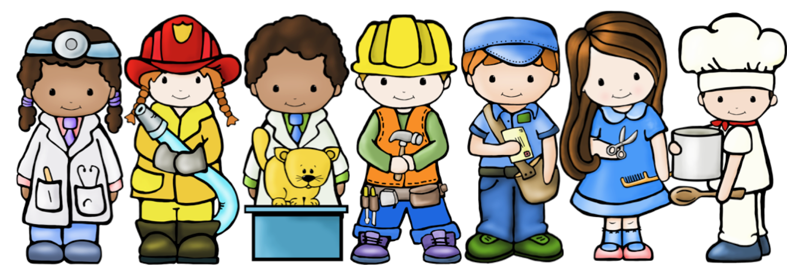 Community helpers clipart free images