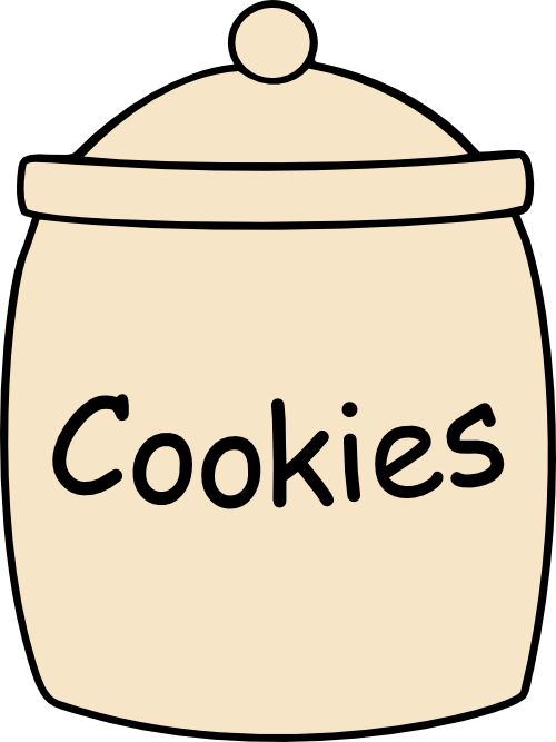 Cookie jar clipart free images clipart