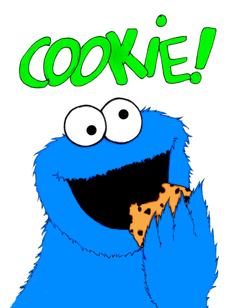 Cookie monster clipart 8