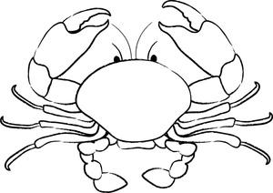 Crab clip art 6 clipartbold
