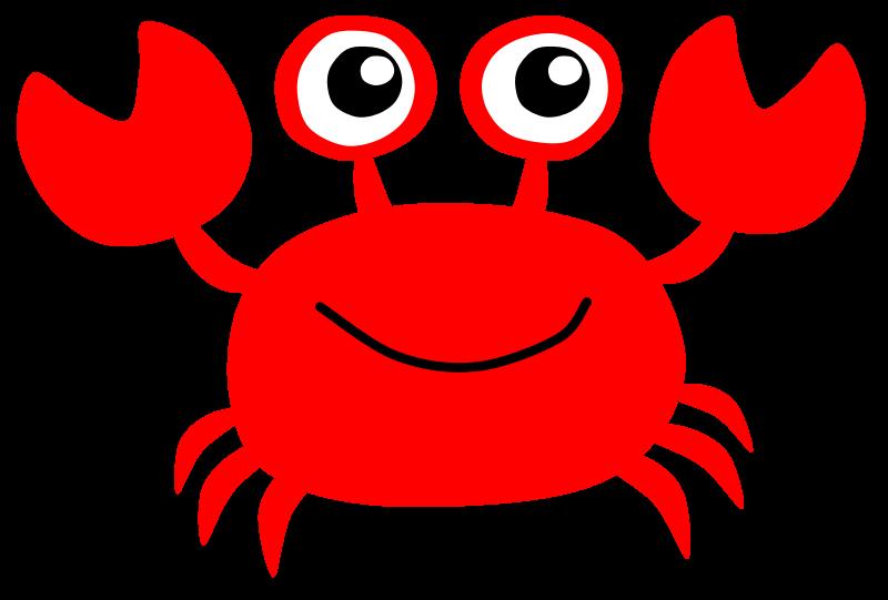 Crab clip art cartoon free clipart images