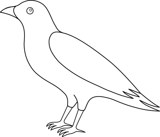 Crow clip art black and white free clipart images 7 clipart