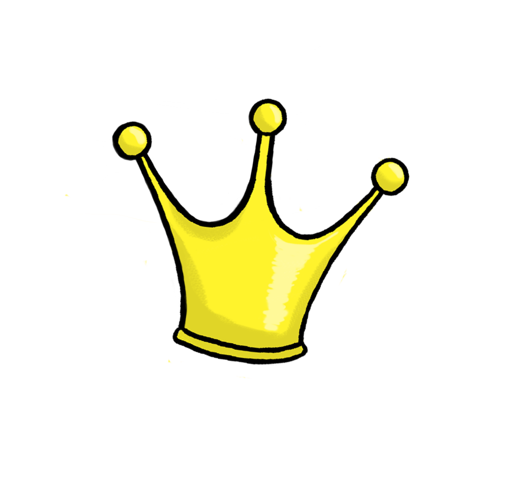 Crown clipart point and