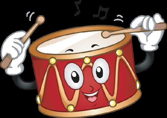 Cute drum clipart the arts image pbs learningmedia