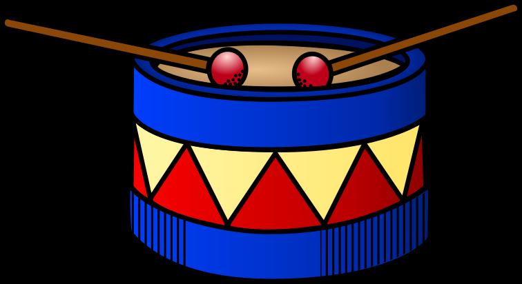 Drum clip art free clipart images