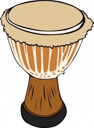 Drum clip art vector graphics
