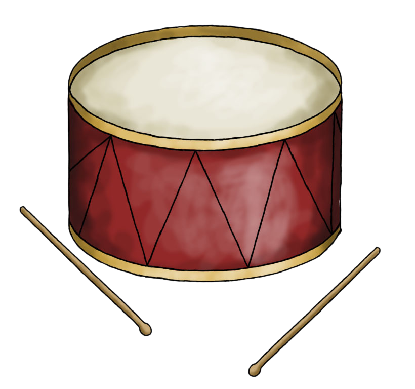 Drum free to use clipart