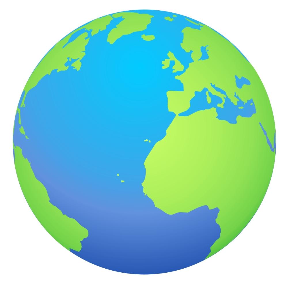 Earth world globe clipart