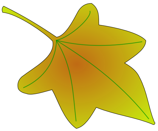 Fall leaves clip art clipart 3 image