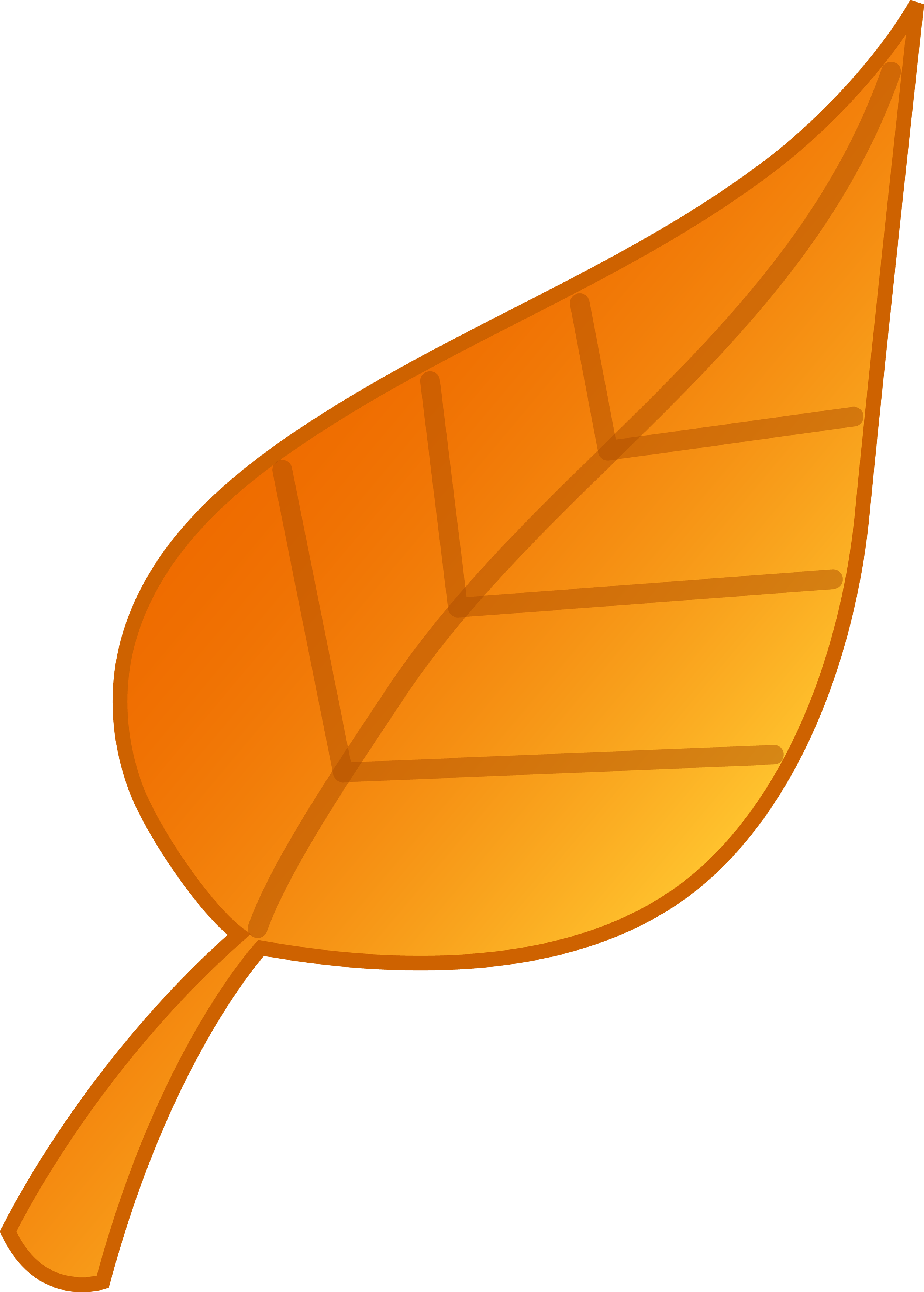 Fall leaves clip art library
