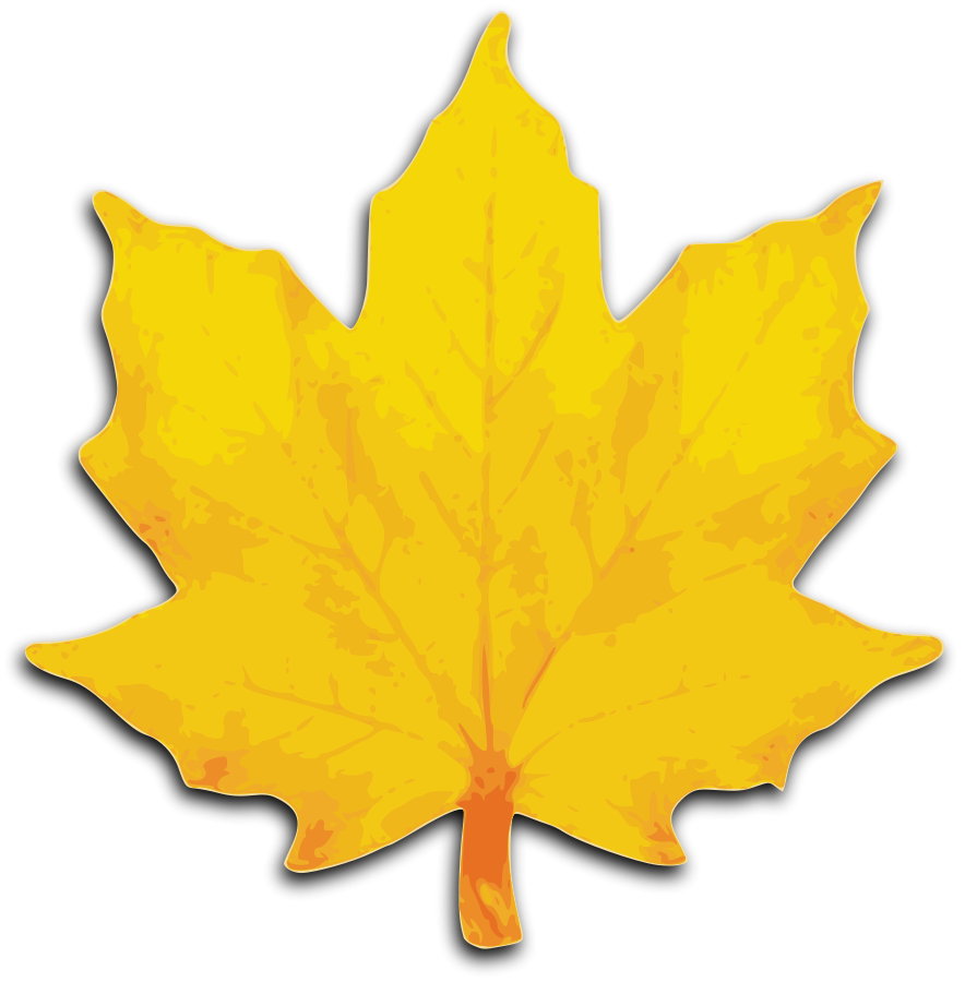 Fall leaves clipart free images 3